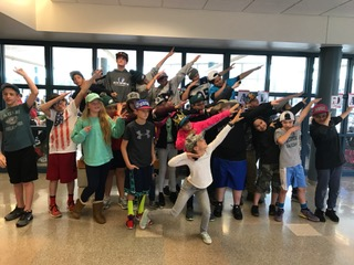 Kennett Middle School Celebrate Hat Day To Raise Money to Cancer Awareness.